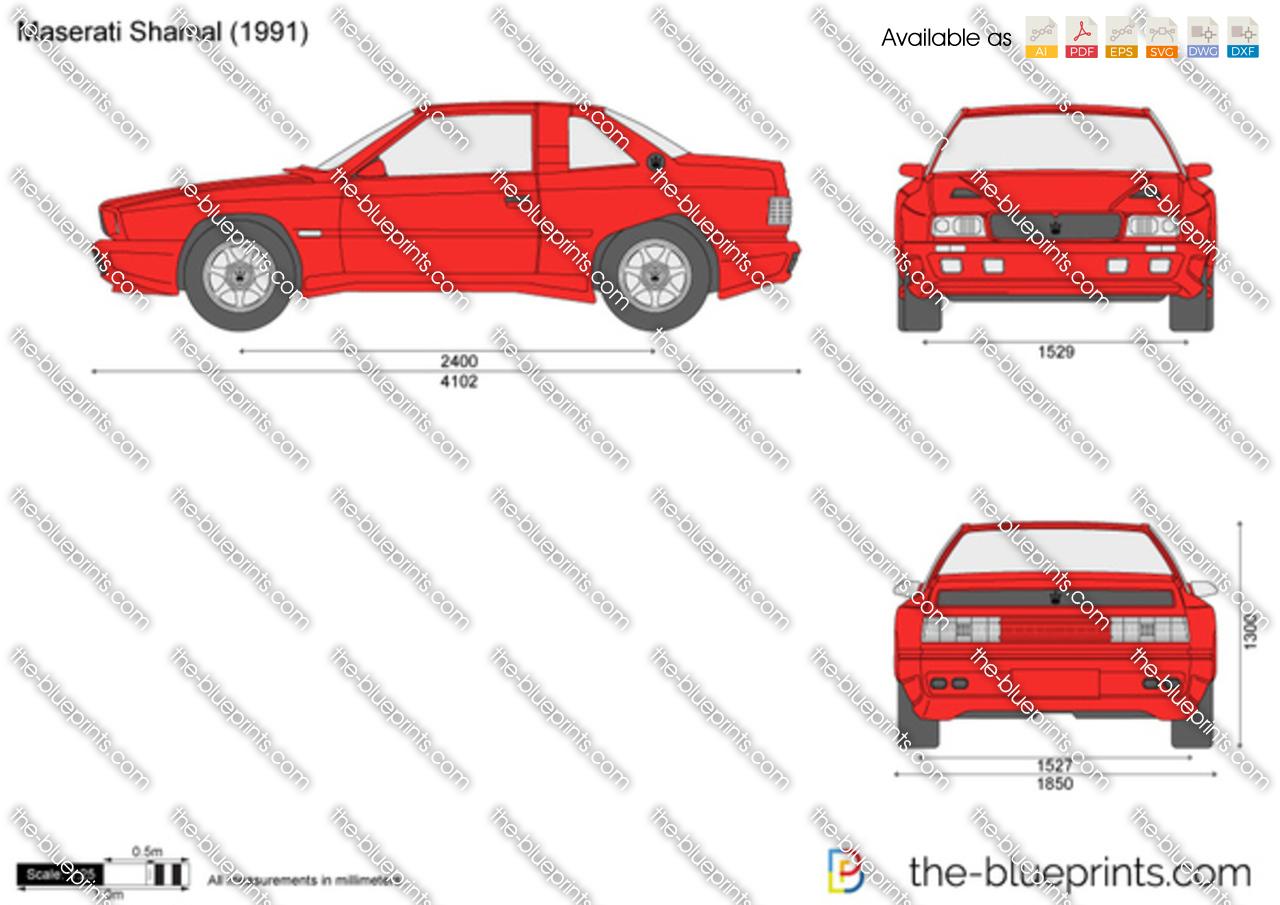 Maserati Shamal 1989