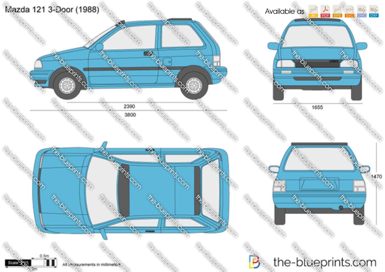 Mazda 121 3-Door 1989