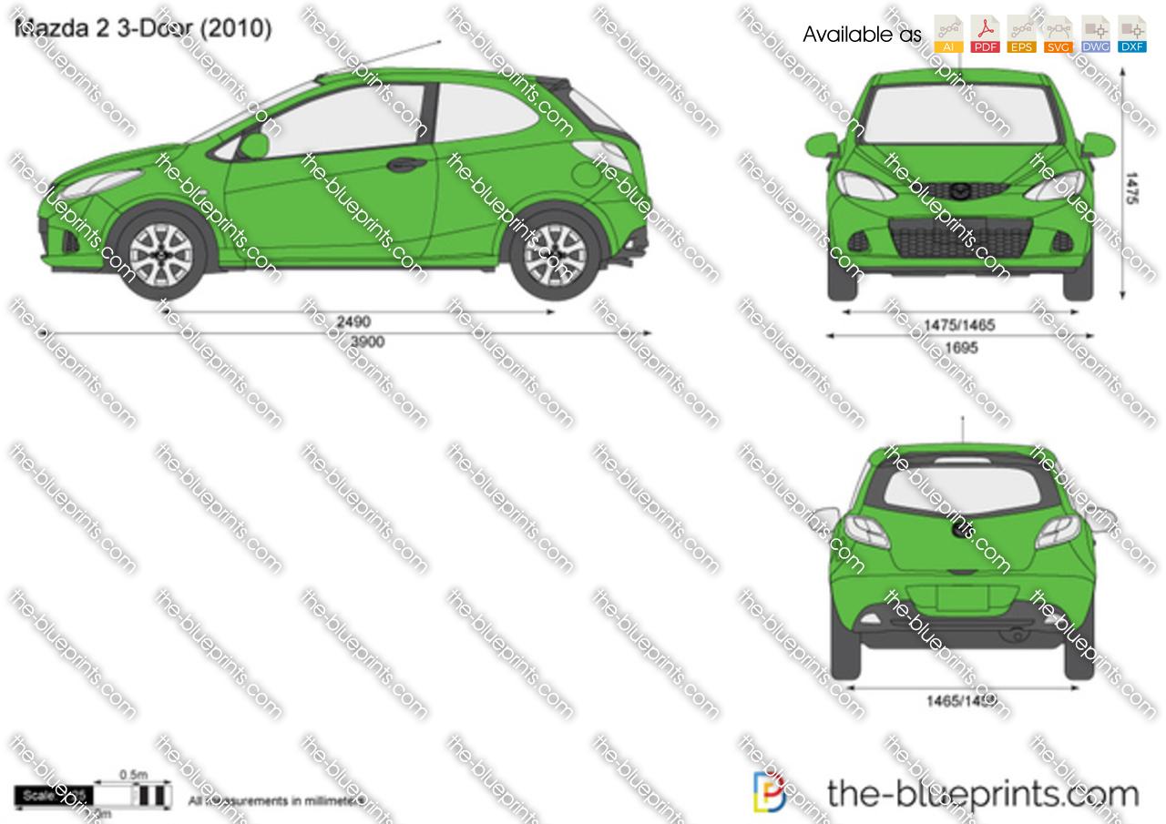 Mazda 2 3-Door 2012