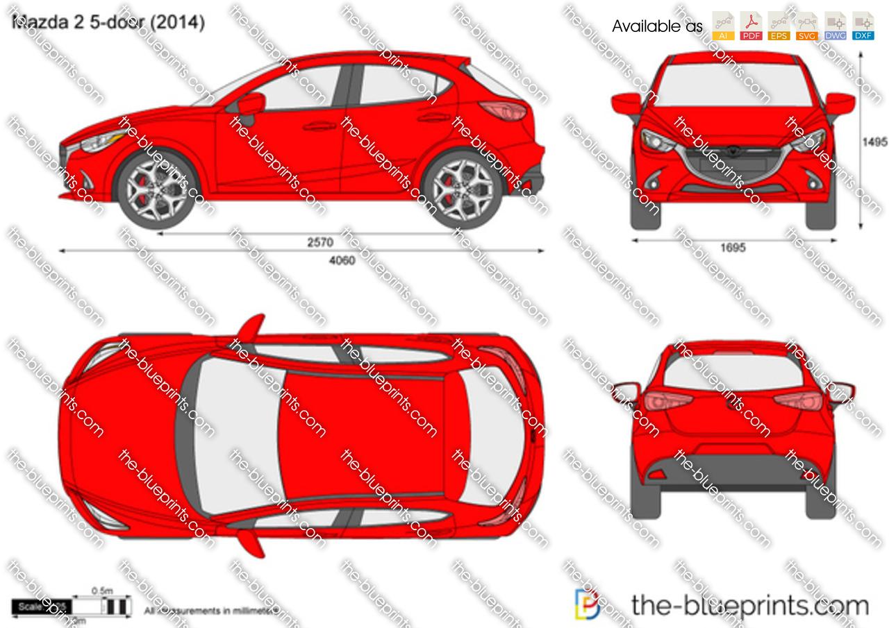 Mazda 2 5-Door 2014