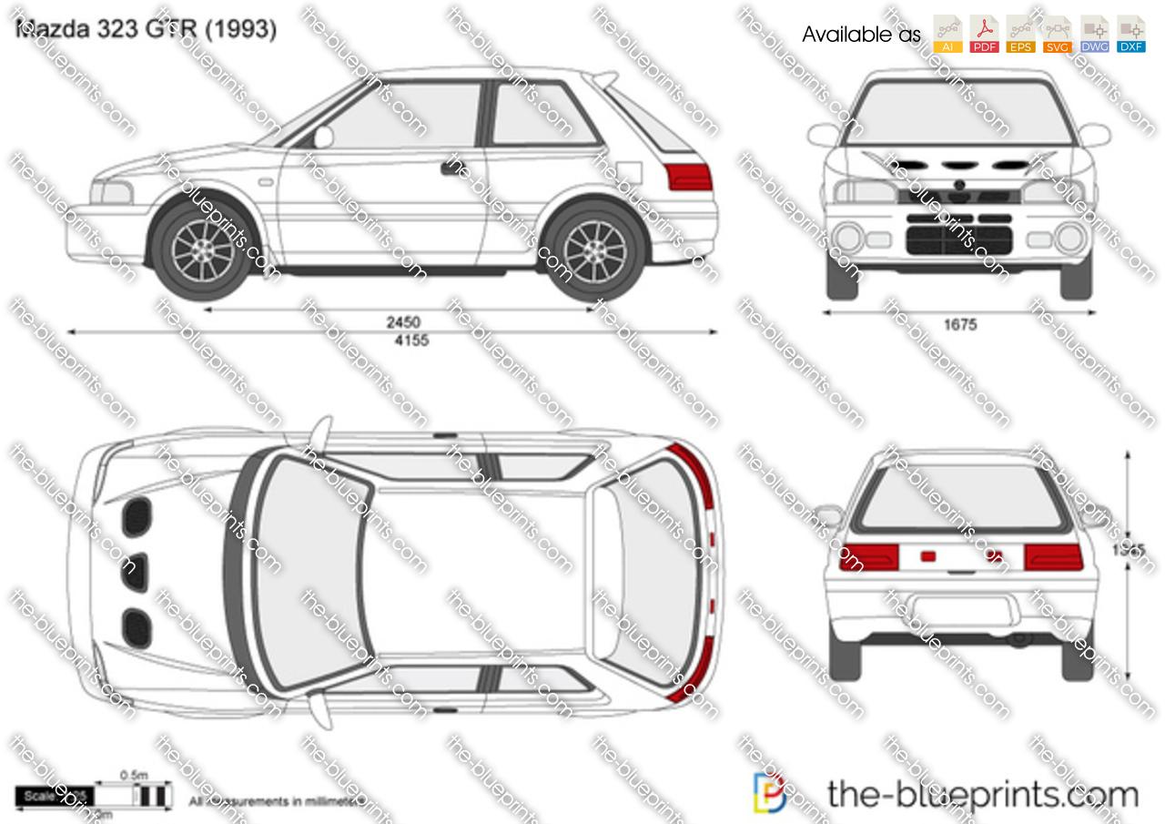 Mazda 323 GTR 1992