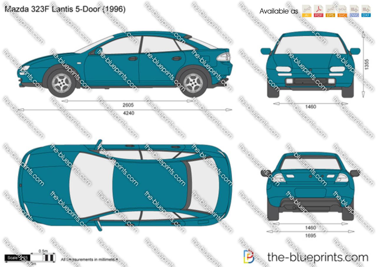 Mazda 323F Lantis 5-Door 1998