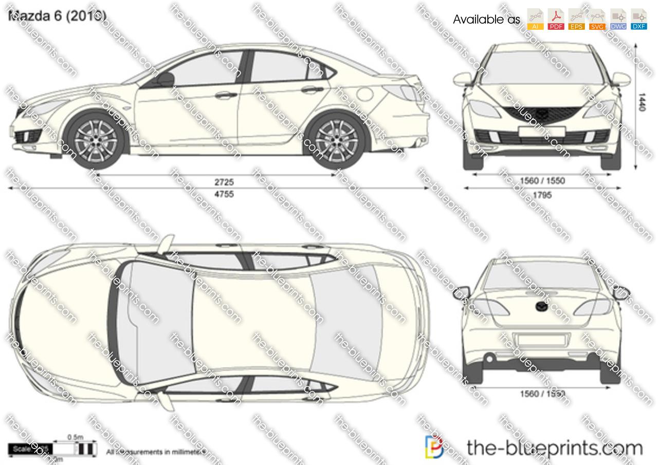 Mazda 6 4-Door 2008