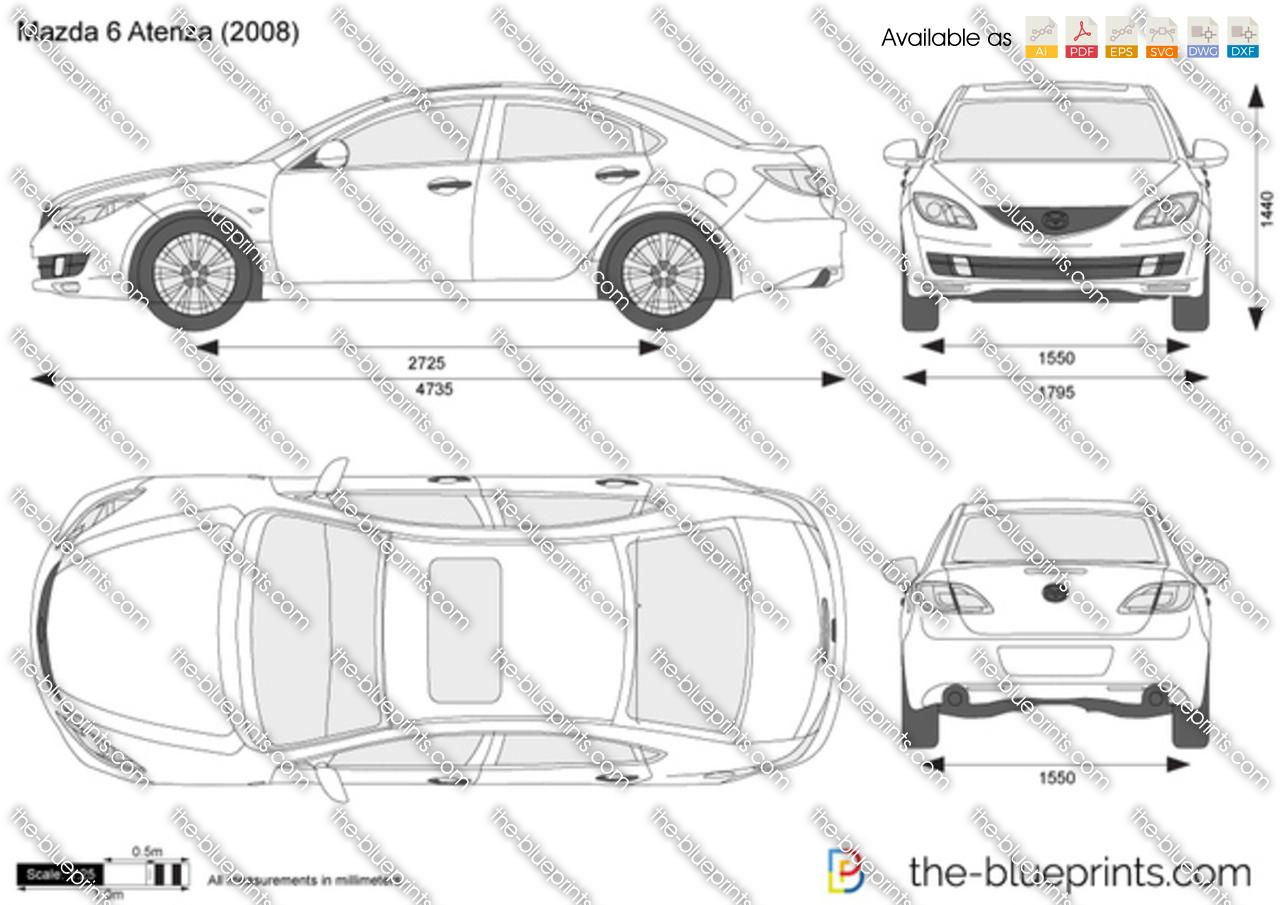 Mazda 6 Atenza Sedan 2012