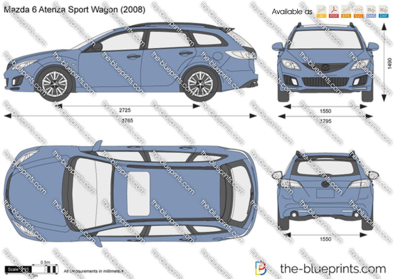 Mazda 6 Atenza Sport Wagon 2011