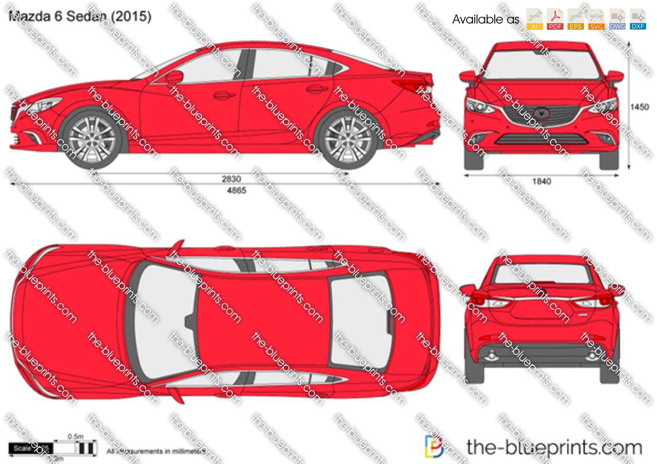 Mazda 6 Sedan 2016