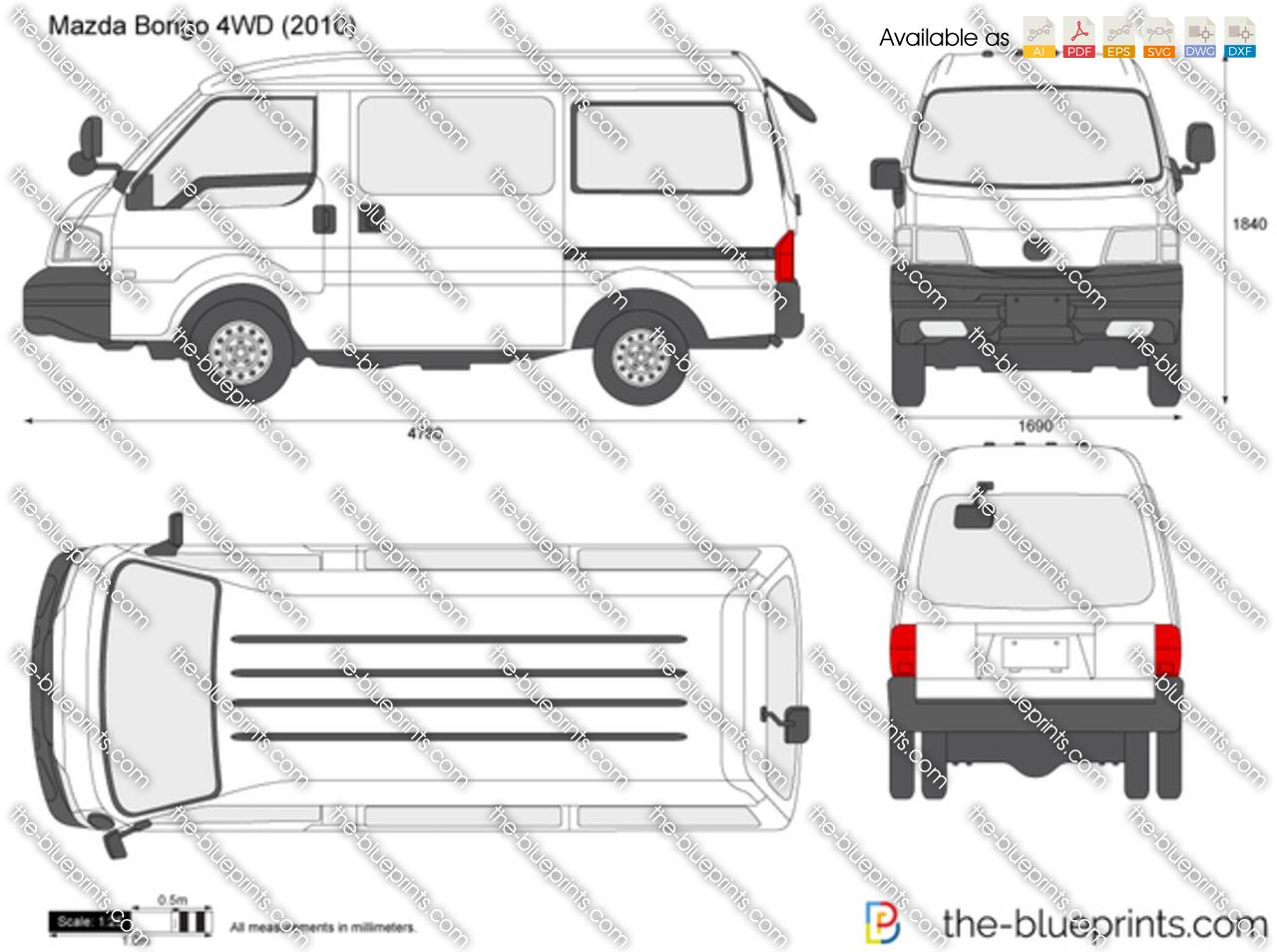 Mazda Bongo 4WD 2000