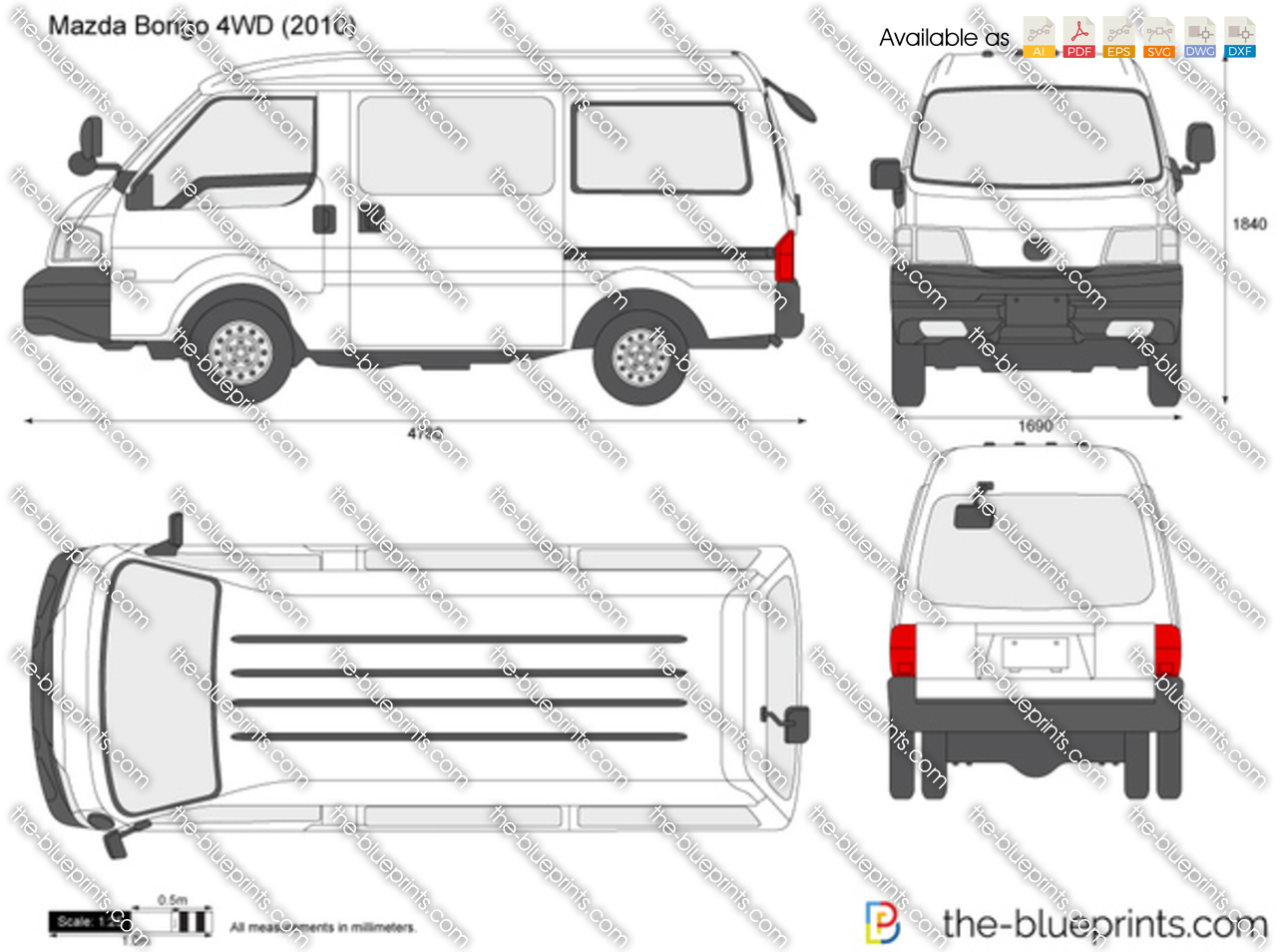 Mazda Bongo 4WD 2017