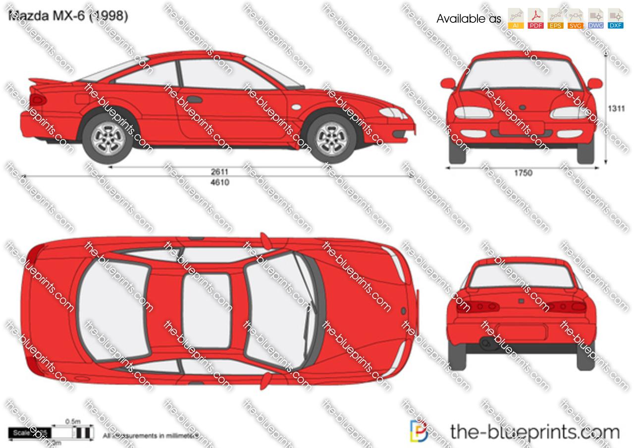 Mazda MX-6 1997