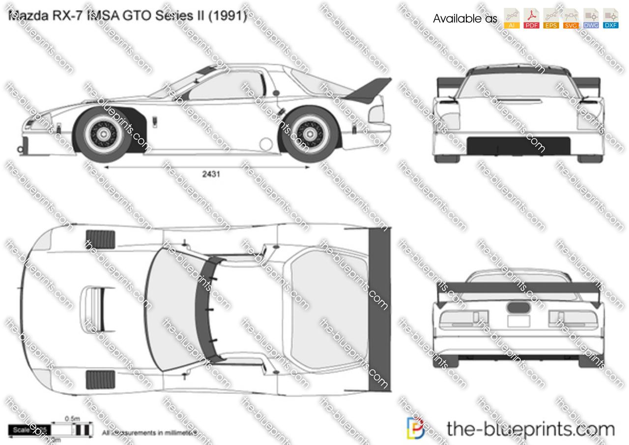 Mazda RX-7 IMSA GTO Series II