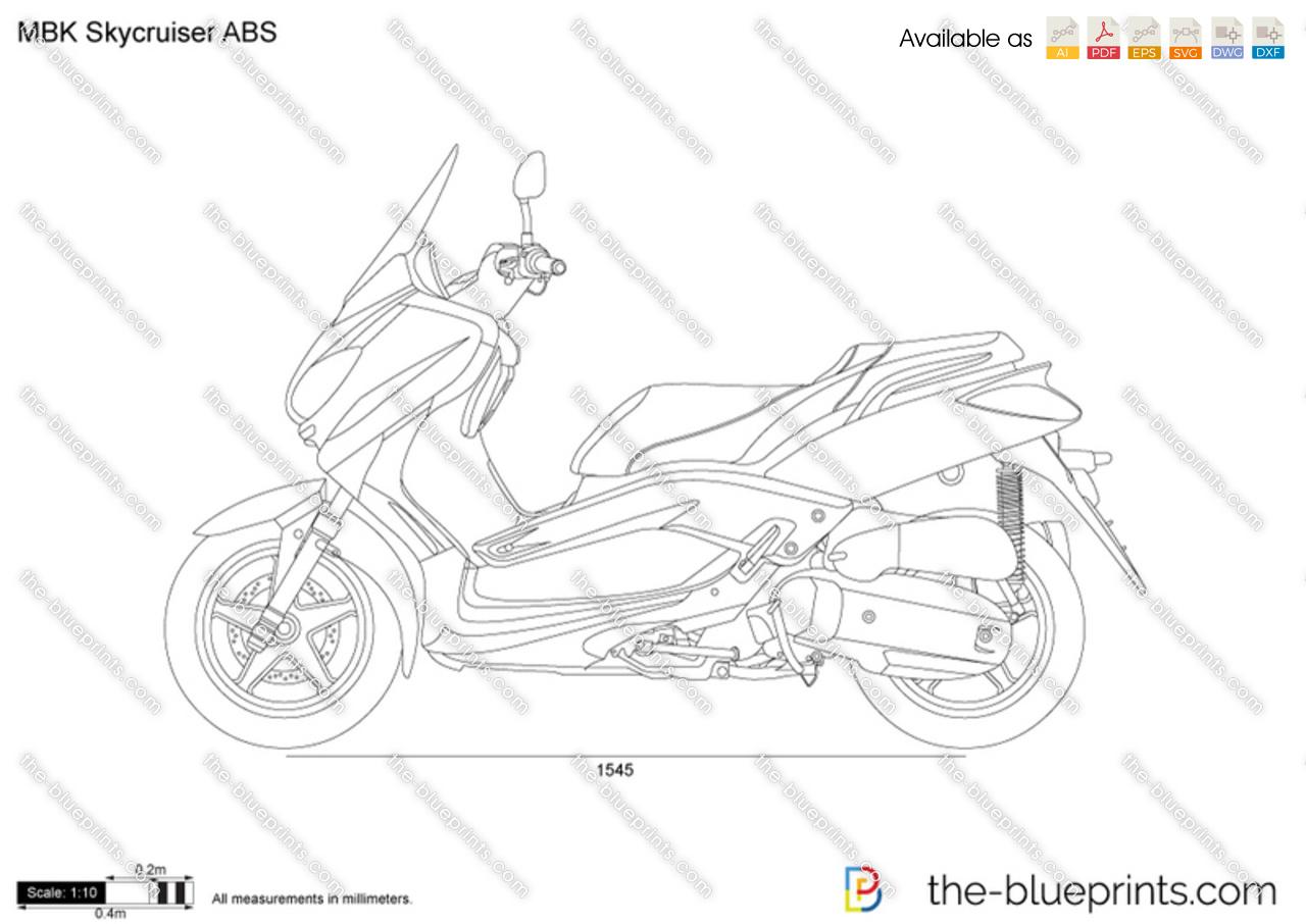 MBK Skycruiser ABS