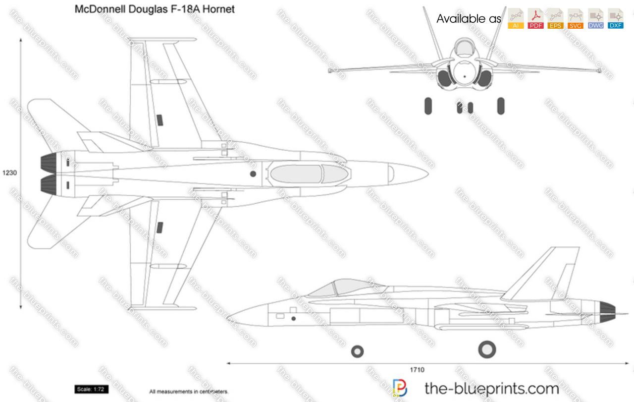 McDonnell Douglas F-18A Hornet