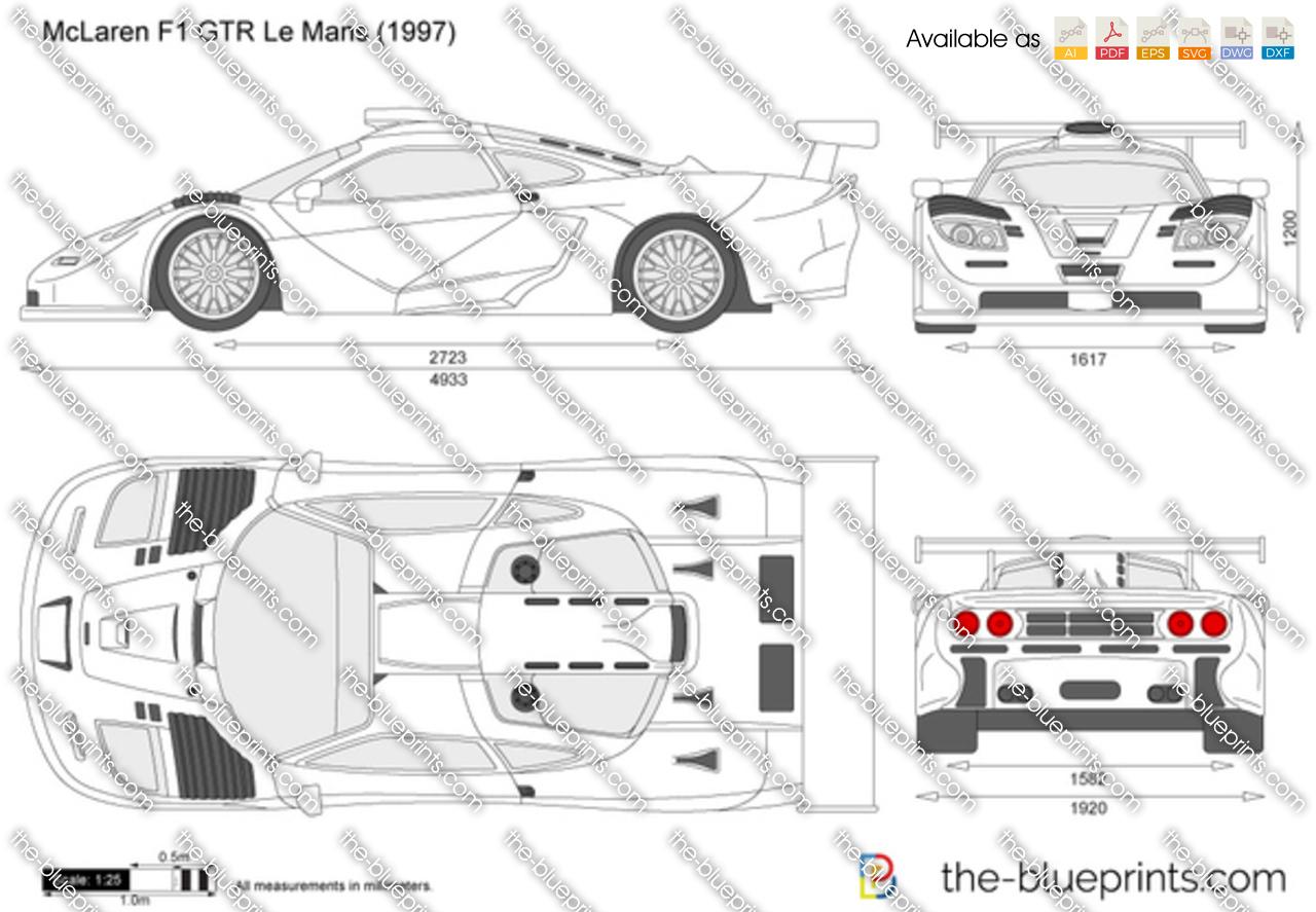 McLaren F1 GTR Le Mans