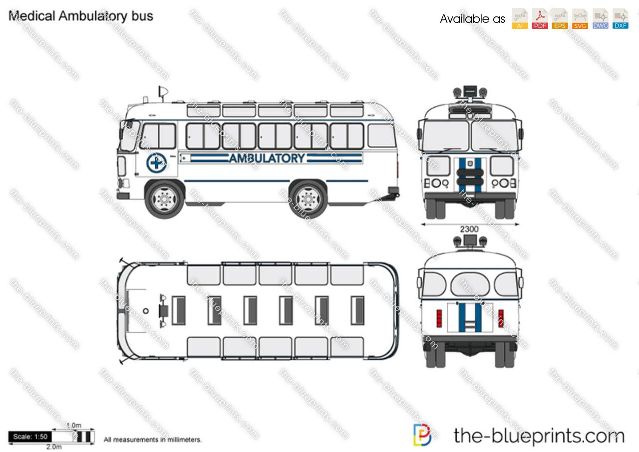 Medical Ambulatory Bus