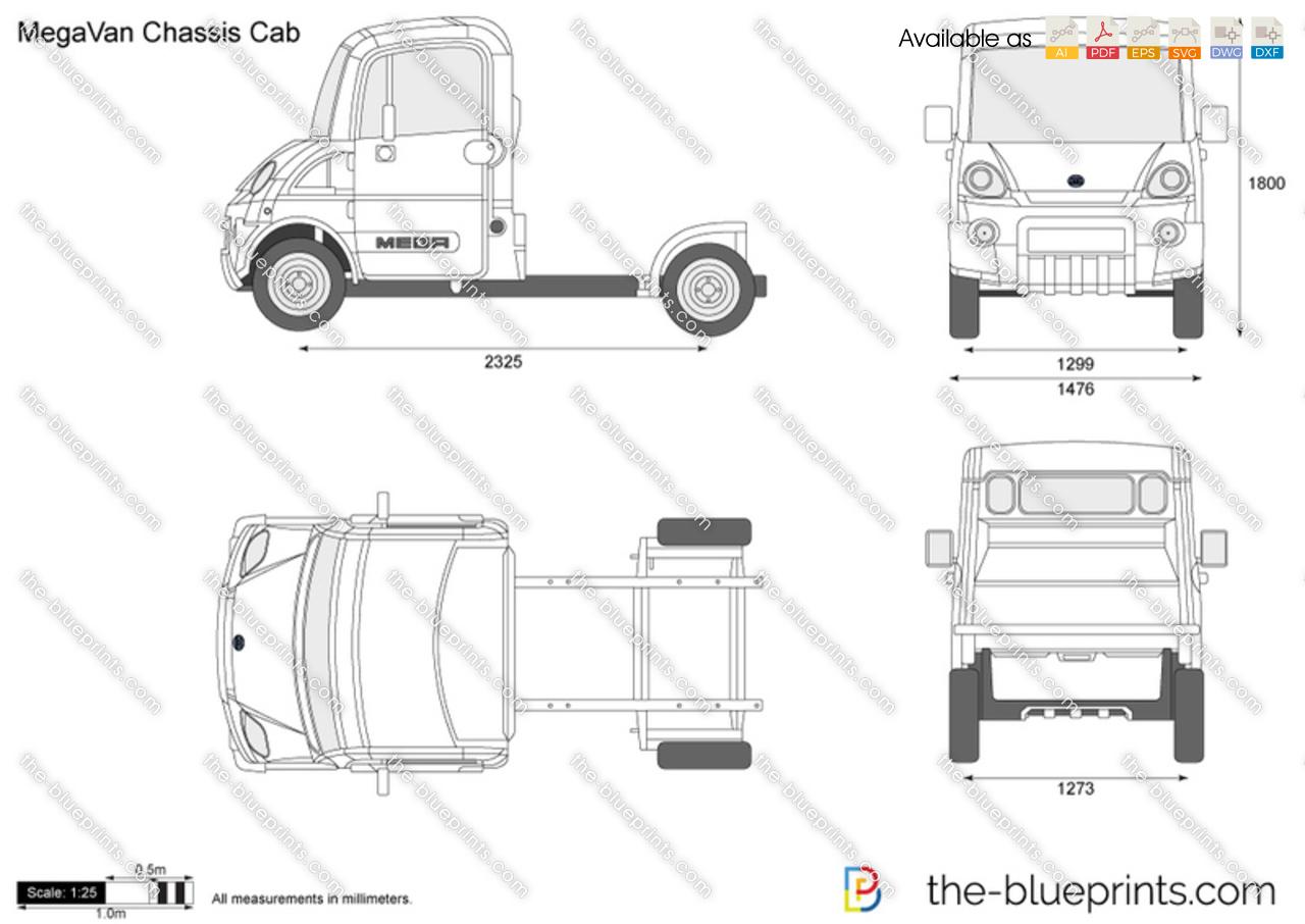 MegaVan Chassis Cab