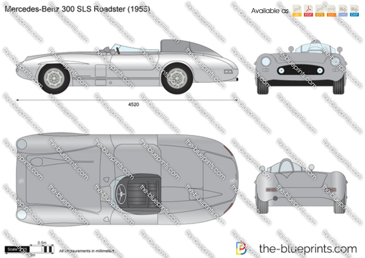 Mercedes-Benz 300 SLS Roadster