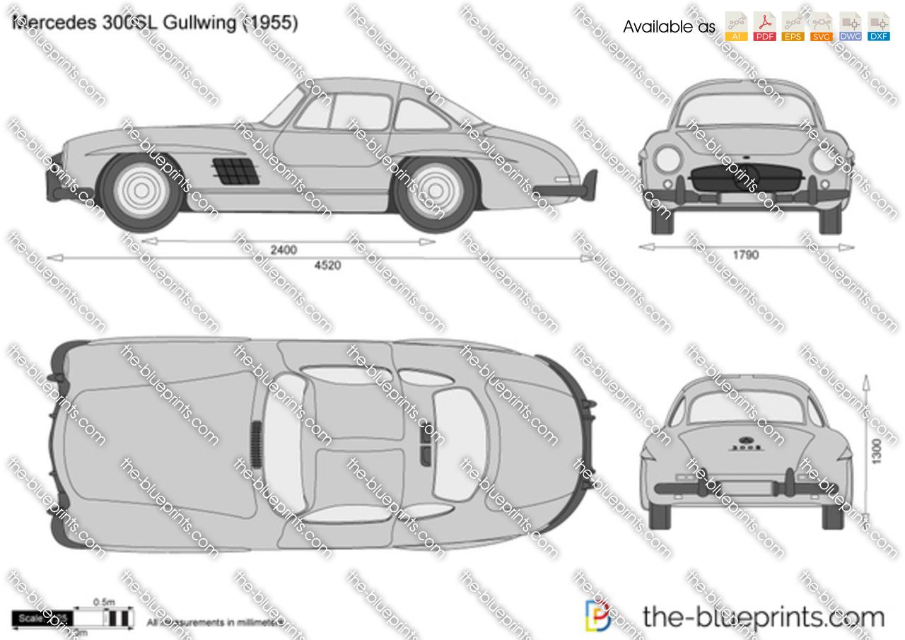 Mercedes-Benz 300SL Gullwing 1958