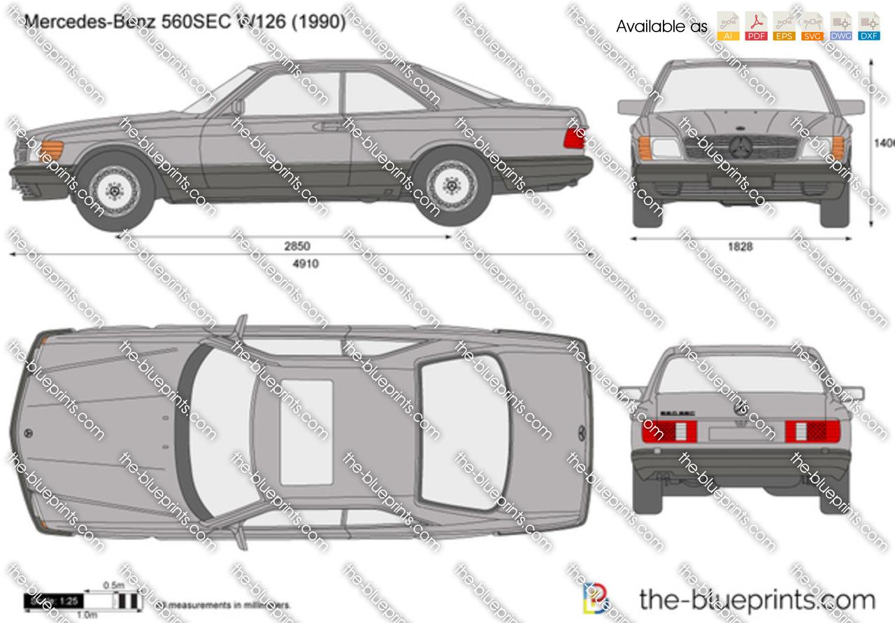 Mercedes-Benz 560SEC W126