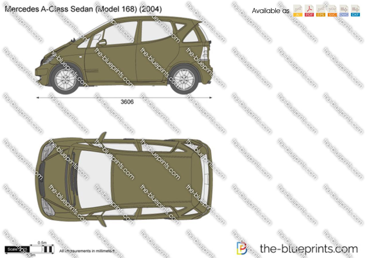 Mercedes-Benz A-Class Sedan W168