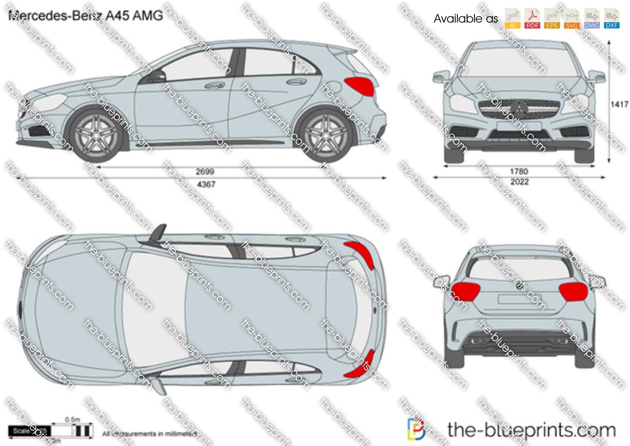 Mercedes-Benz A45 AMG W176 2015