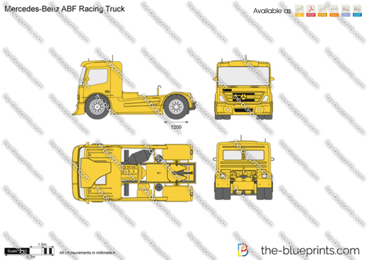 Mercedes-Benz ABF Racing Truck