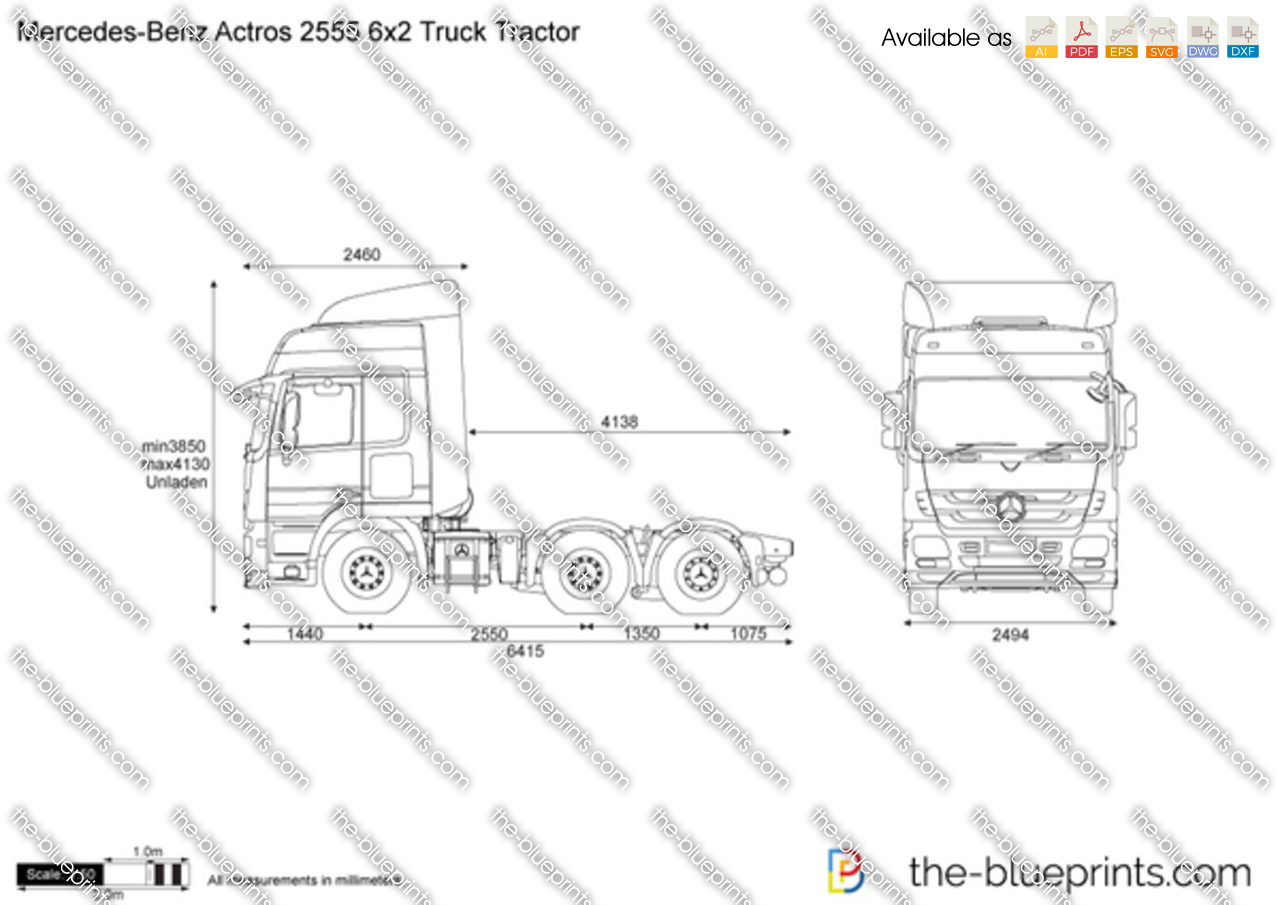 Mercedes Benz Actros X Truck Tractor on Ford Sel Wiring Harness Diagram Schematics Jpg