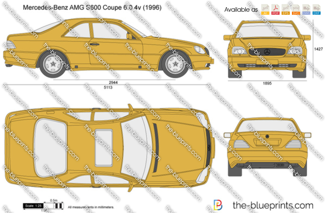 Mercedes-Benz AMG S600 Coupe 6.0 4v 1993