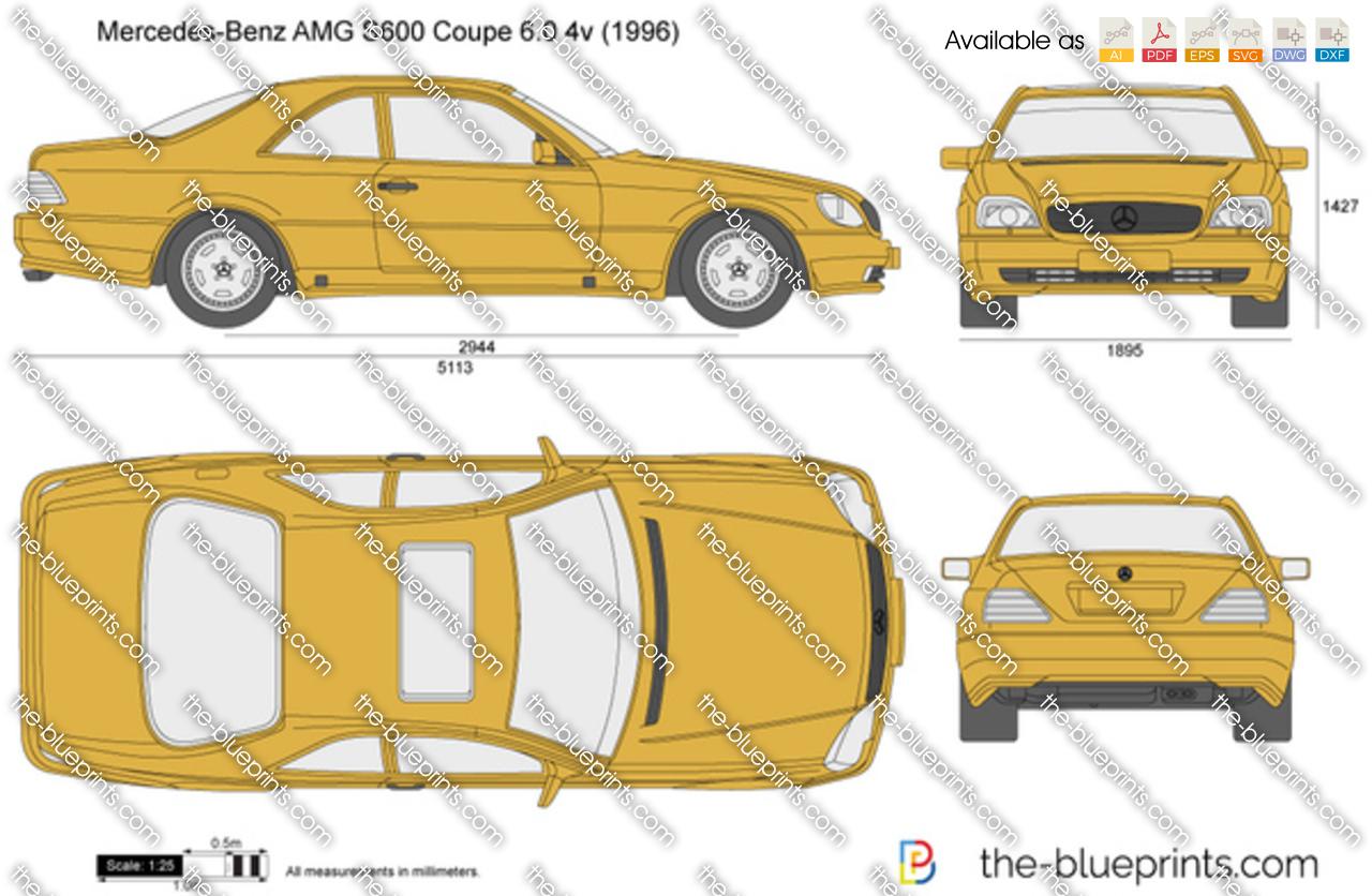 Mercedes-Benz AMG S600 Coupe 6.0 4v 1995