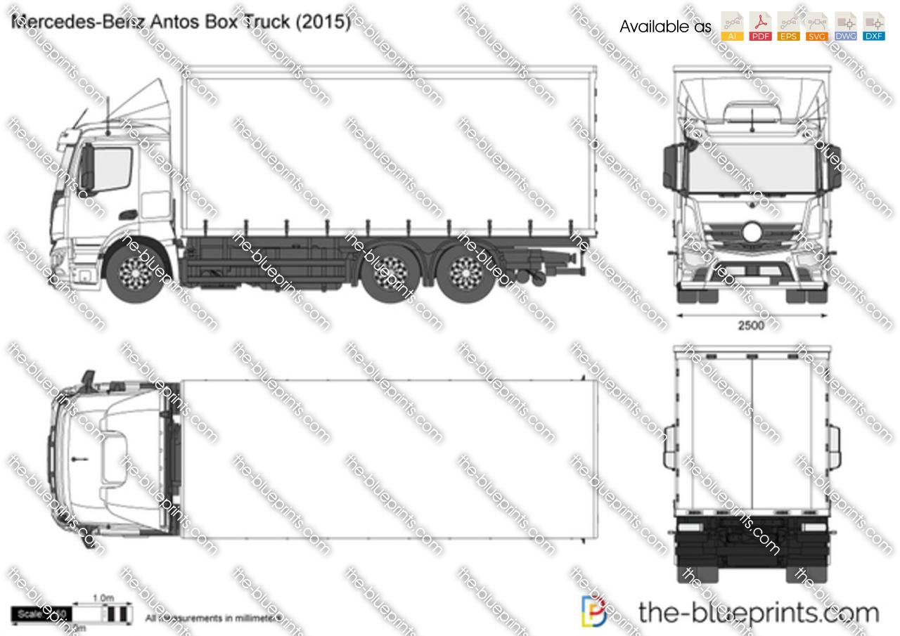 Mercedes-Benz Antos Box Truck