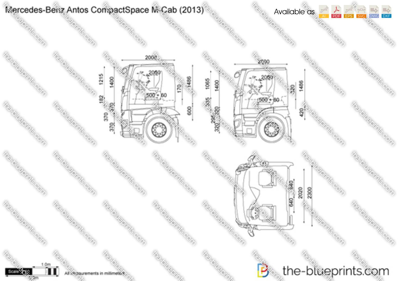 Mercedes-Benz Antos CompactSpace M-Cab