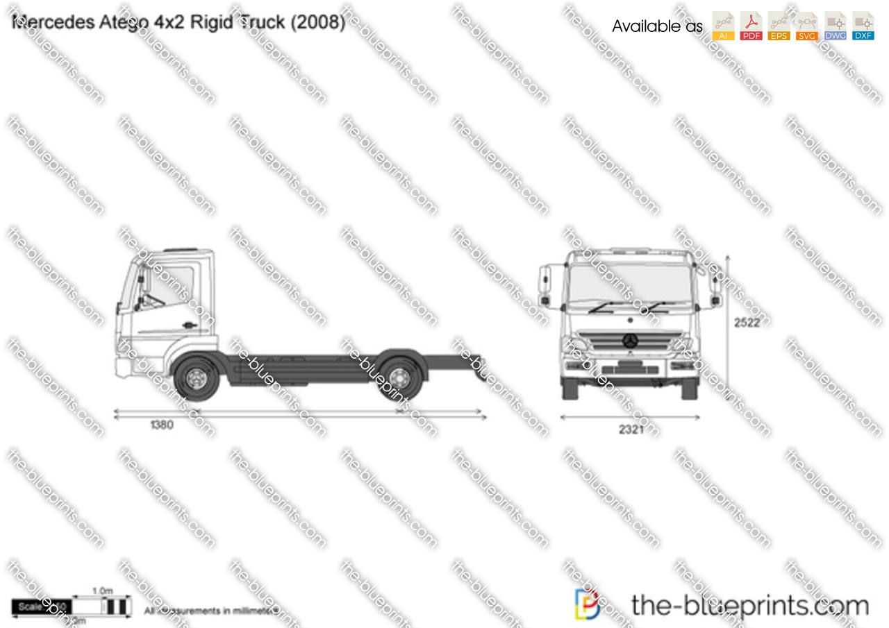 Mercedes-Benz Atego 4x2 Rigid Truck