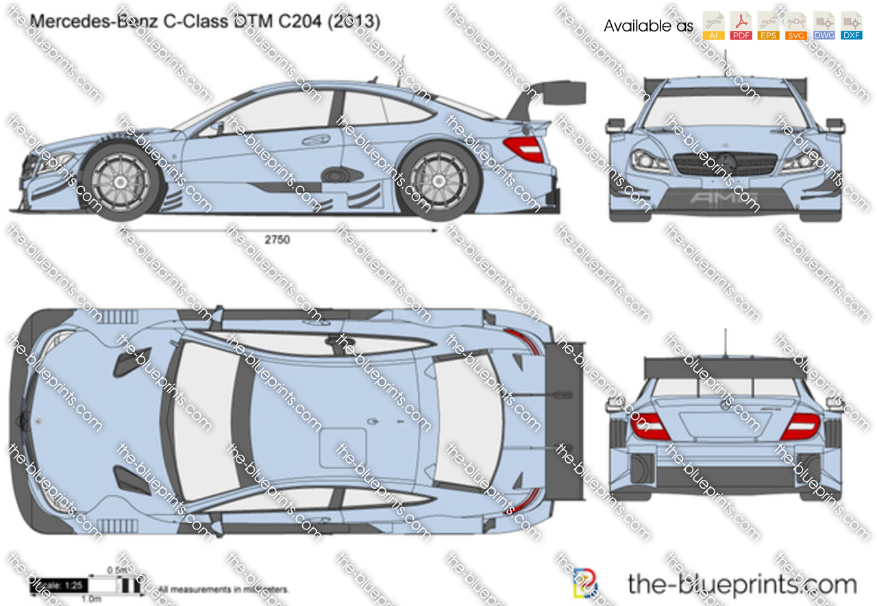 Mercedes-Benz C-Class DTM C204