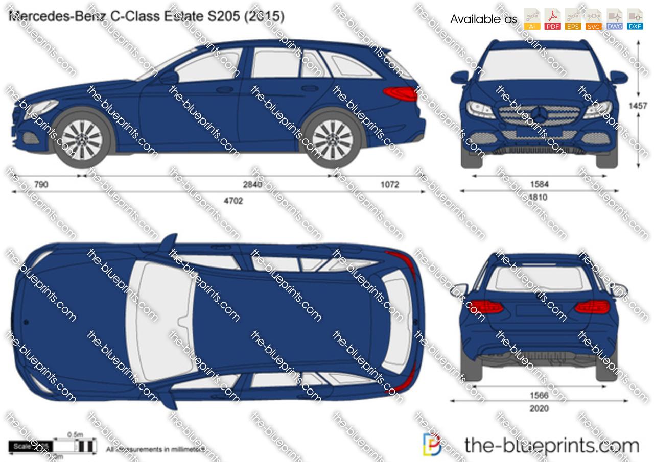 Mercedes-Benz C-Class Estate S205 2016