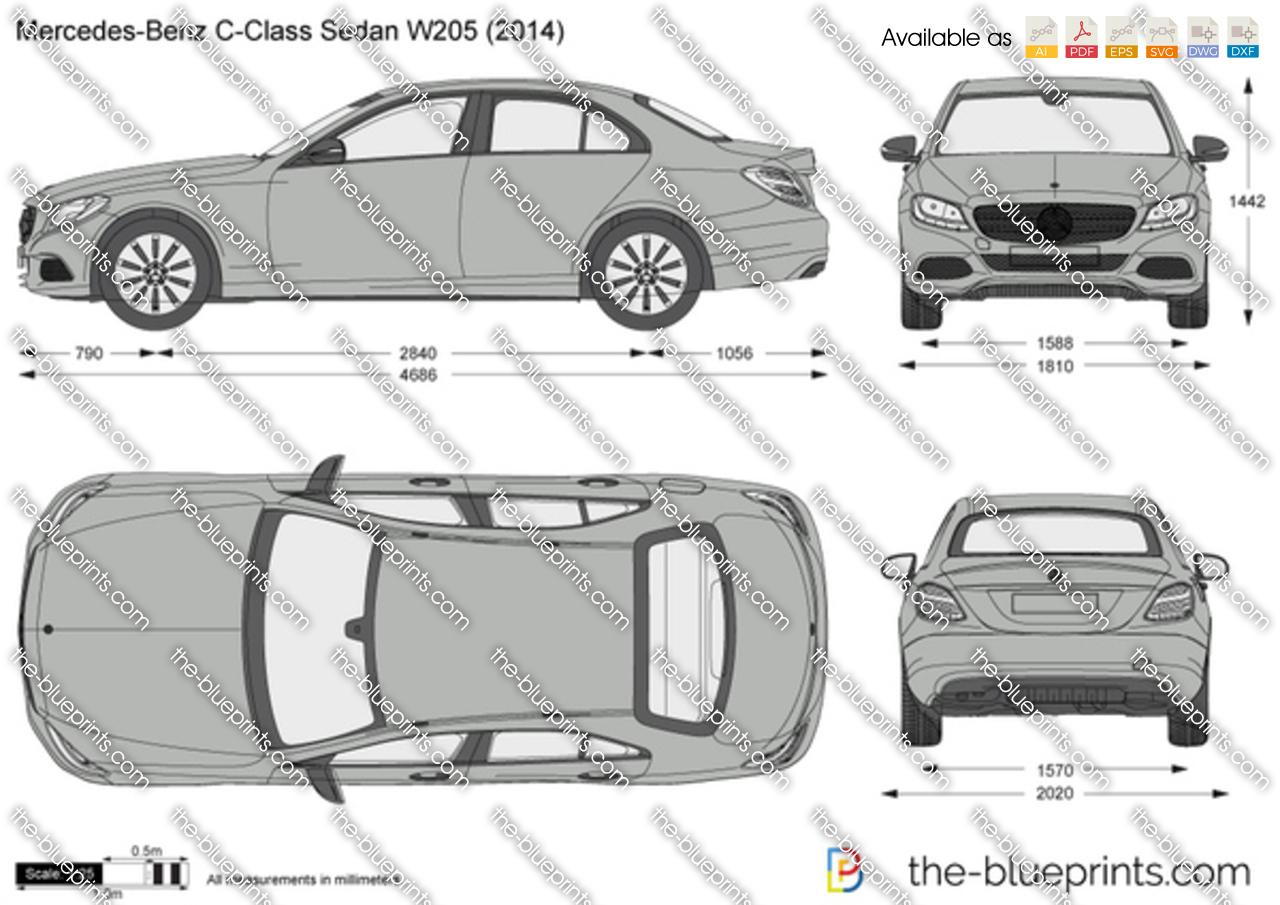 Mercedes-Benz C-Class Sedan W205 2015