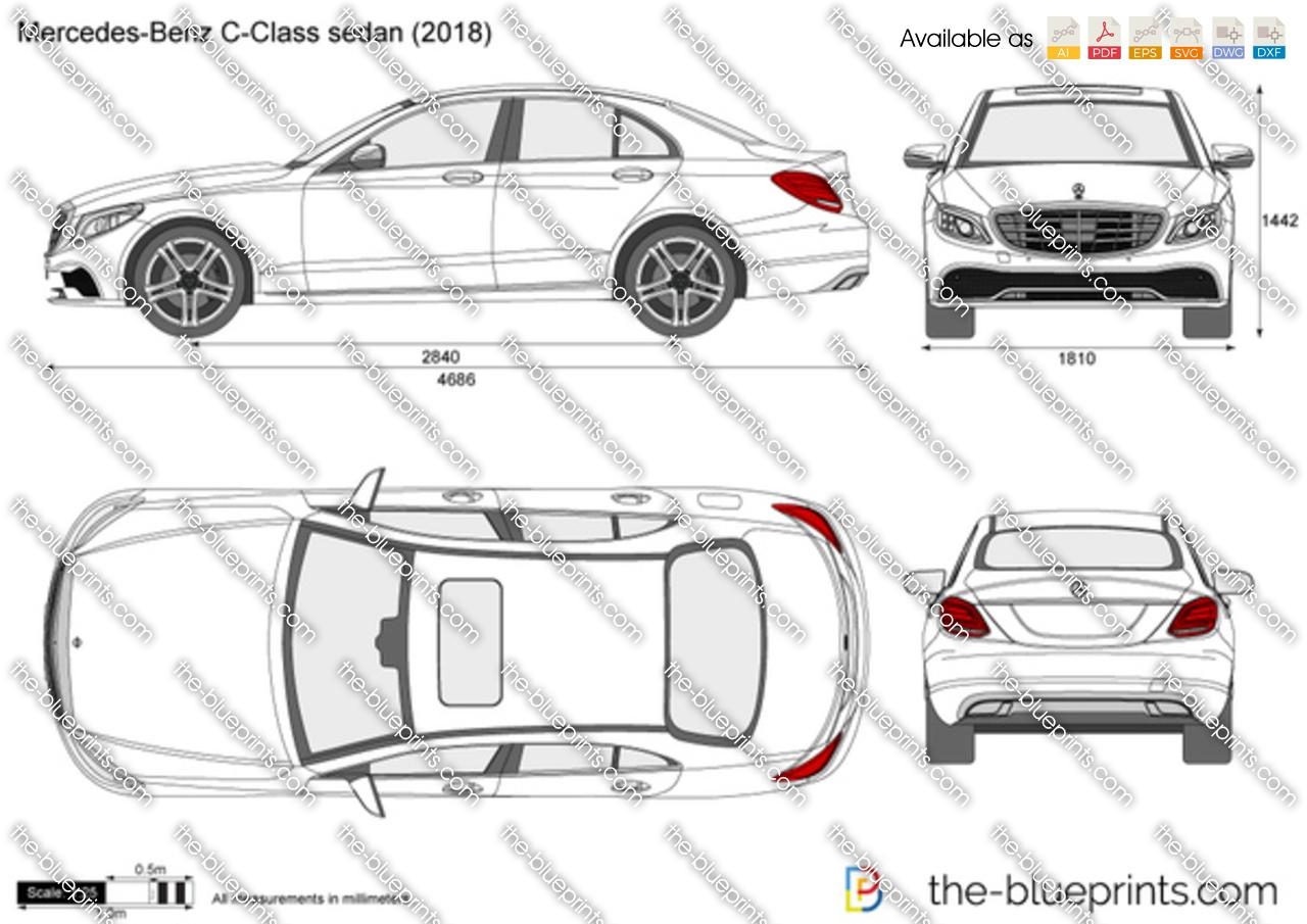 Mercedes-Benz C-Class Sedan W205 2018
