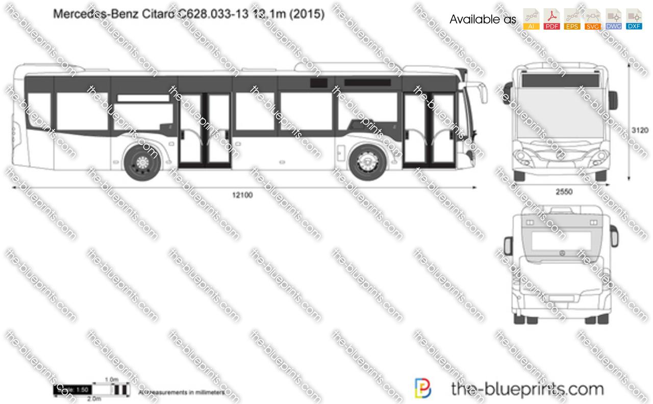 Mercedes-Benz Citaro C628.033-13 12.1m 2017