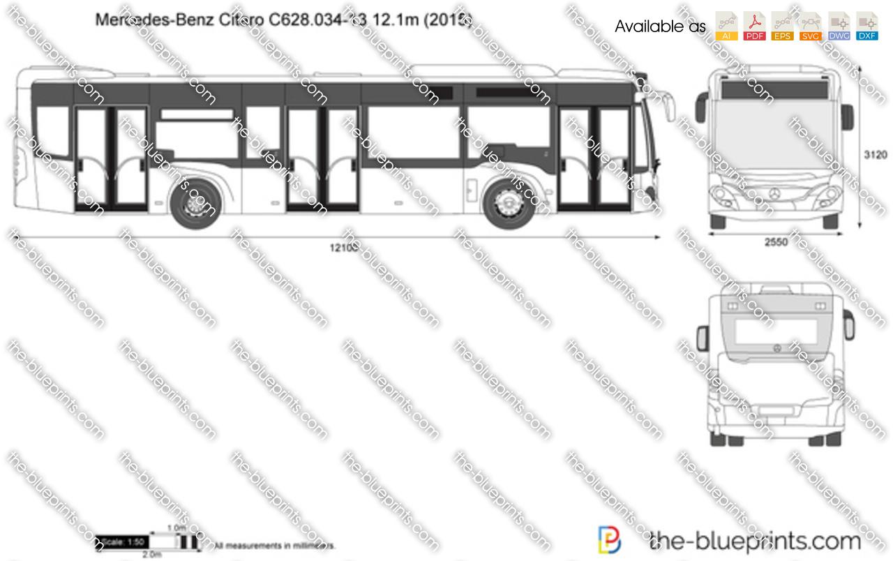 Mercedes-Benz Citaro C628.034-13 12.1m 2018