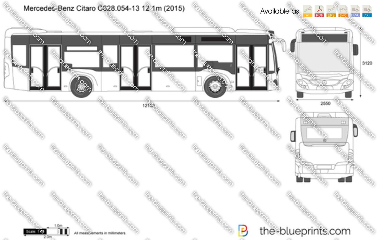 Mercedes-Benz Citaro C628.054-13 12.1m 2017