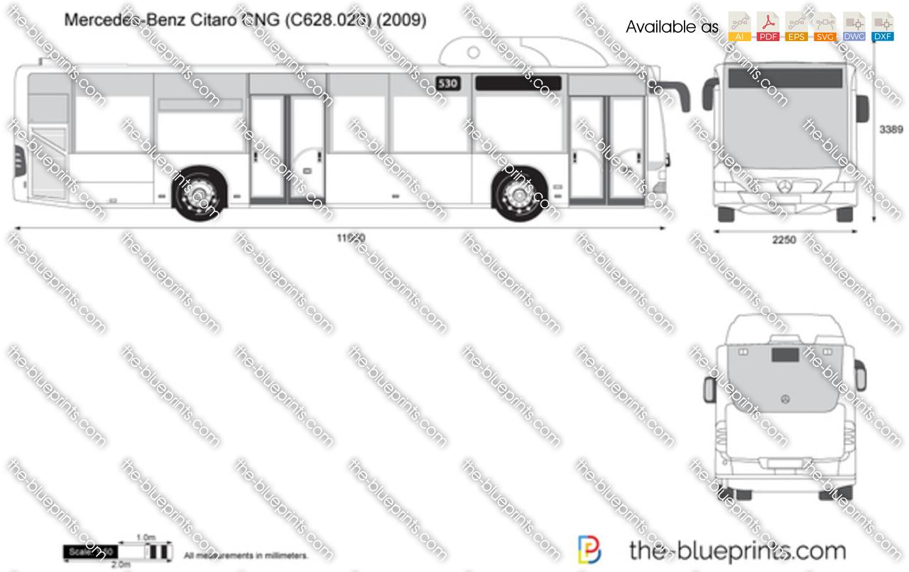 Mercedes-Benz Citaro CNG (C628.020)