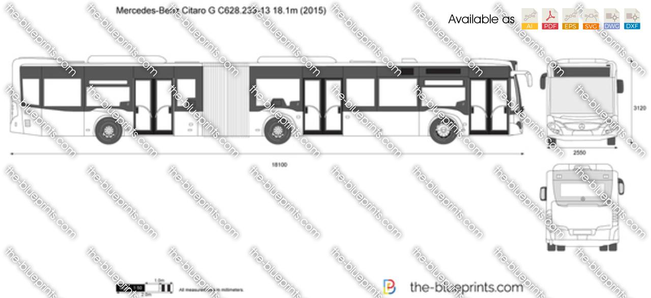 Mercedes-Benz Citaro G C628.233-13 18.1m 2018