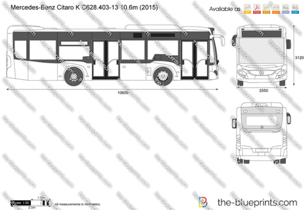 Mercedes-Benz Citaro K C628.403-13 10.6m 2017