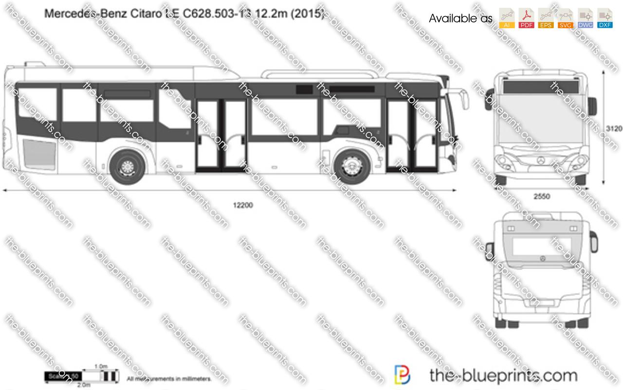 Mercedes-Benz Citaro LE C628.503-13 12.2m 2017
