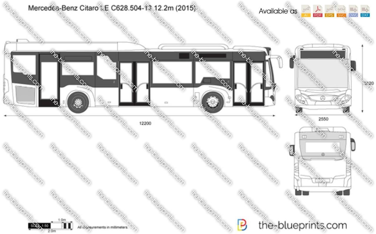 Mercedes-Benz Citaro LE C628.504-13 12.2m 2016