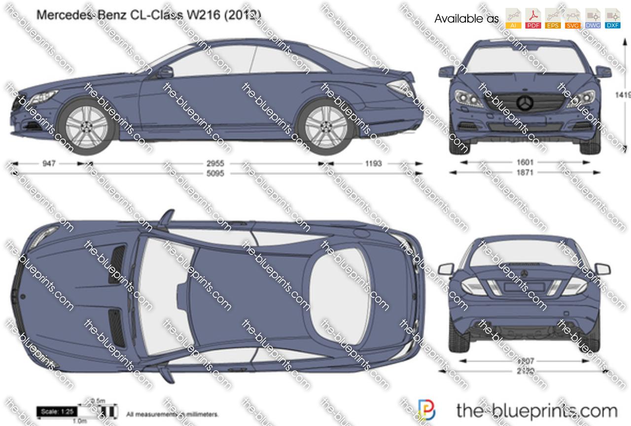 Mercedes-Benz CL-Class W216