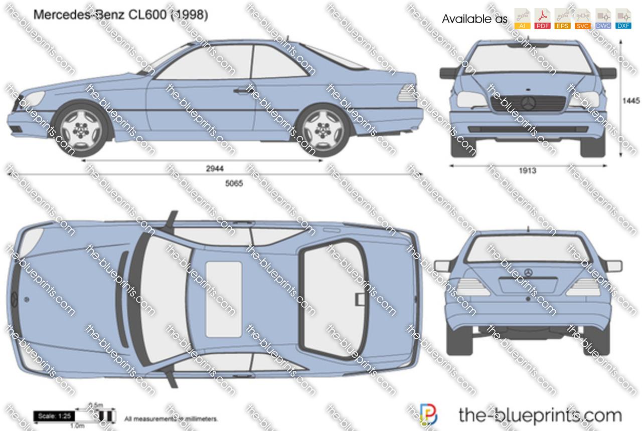 Mercedes-Benz CL600 C140