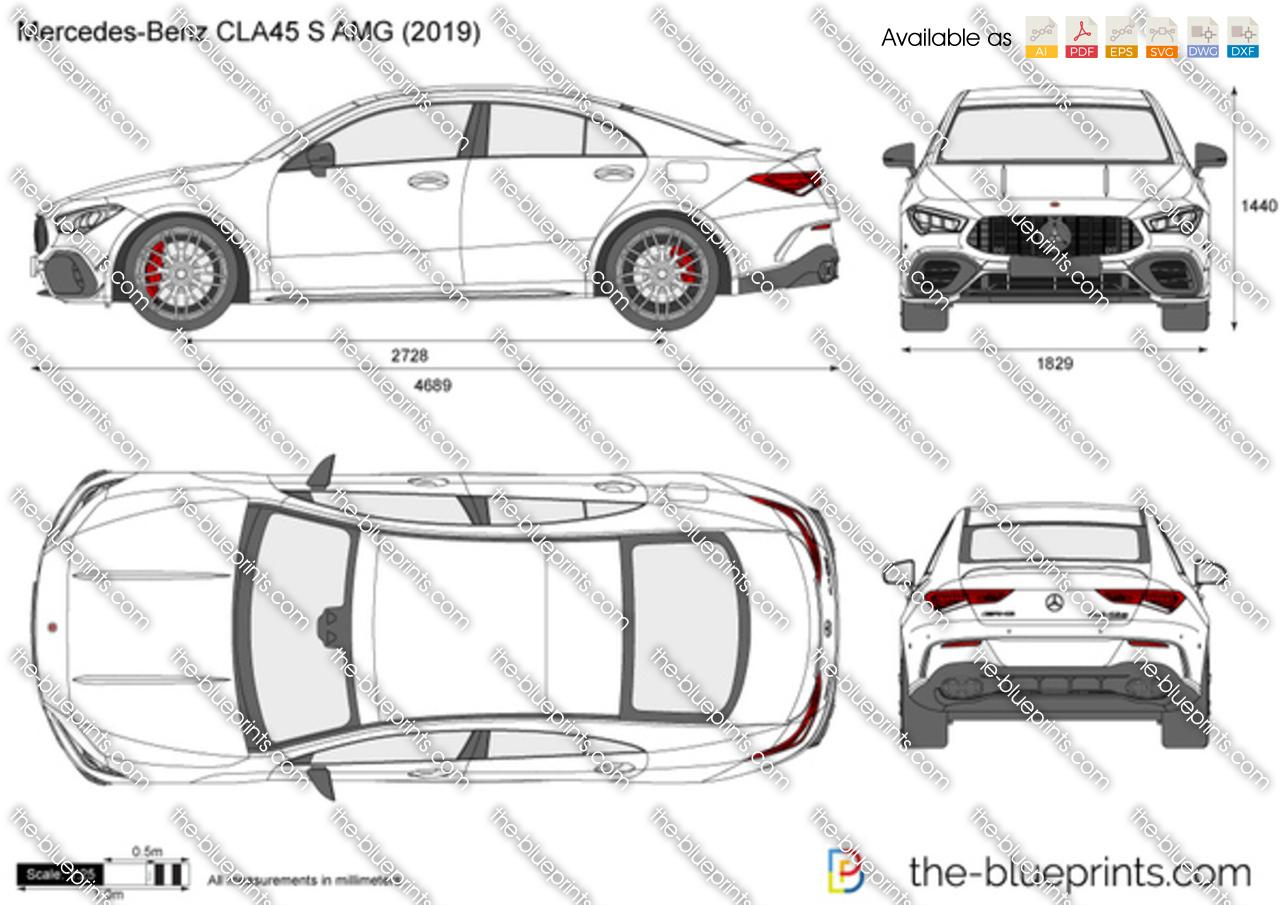 Mercedes-Benz CLA45 S AMG