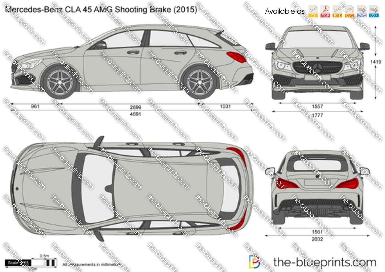 Mercedes-Benz CLA 45 AMG Shooting Brake 2018