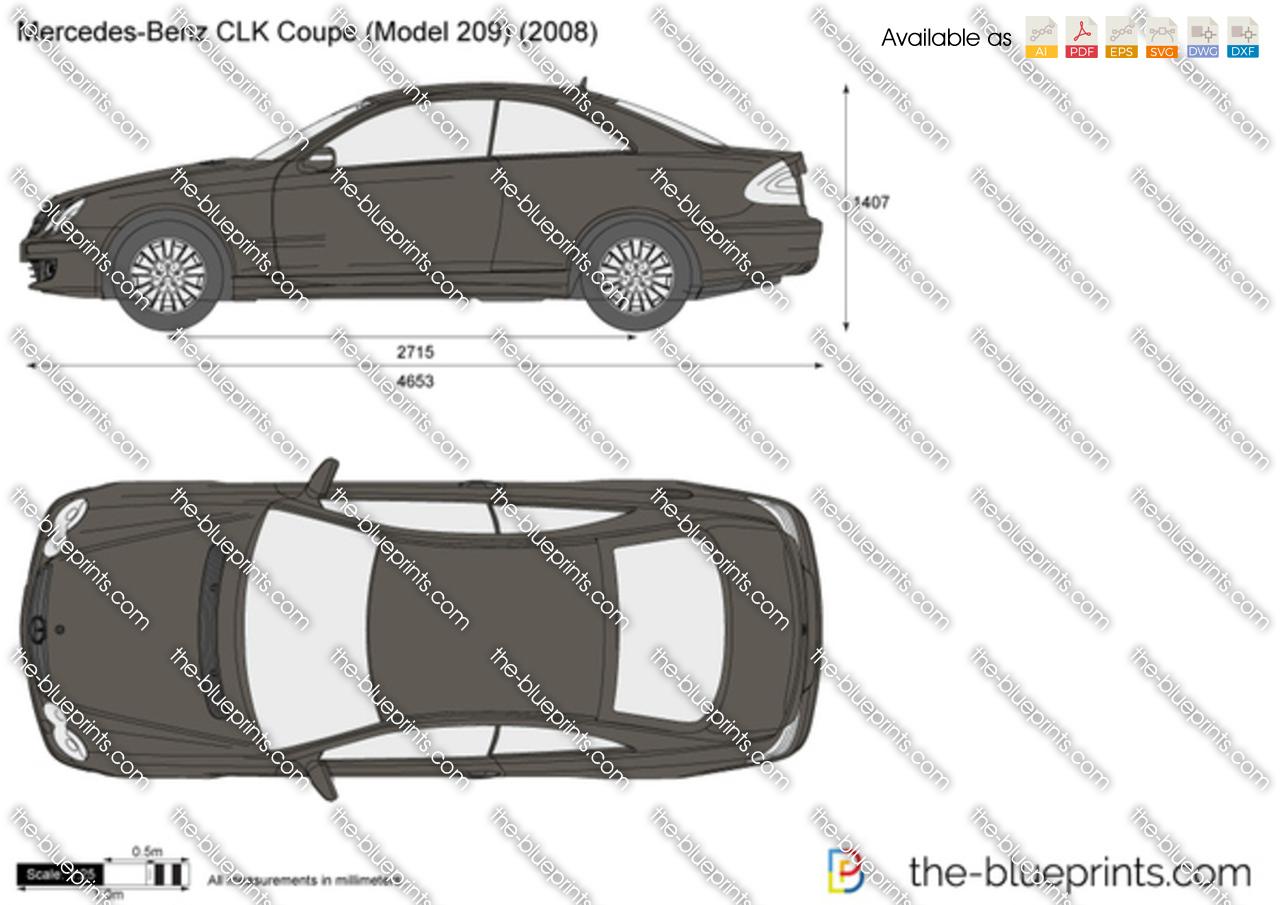 Mercedes-Benz CLK Coupe W209
