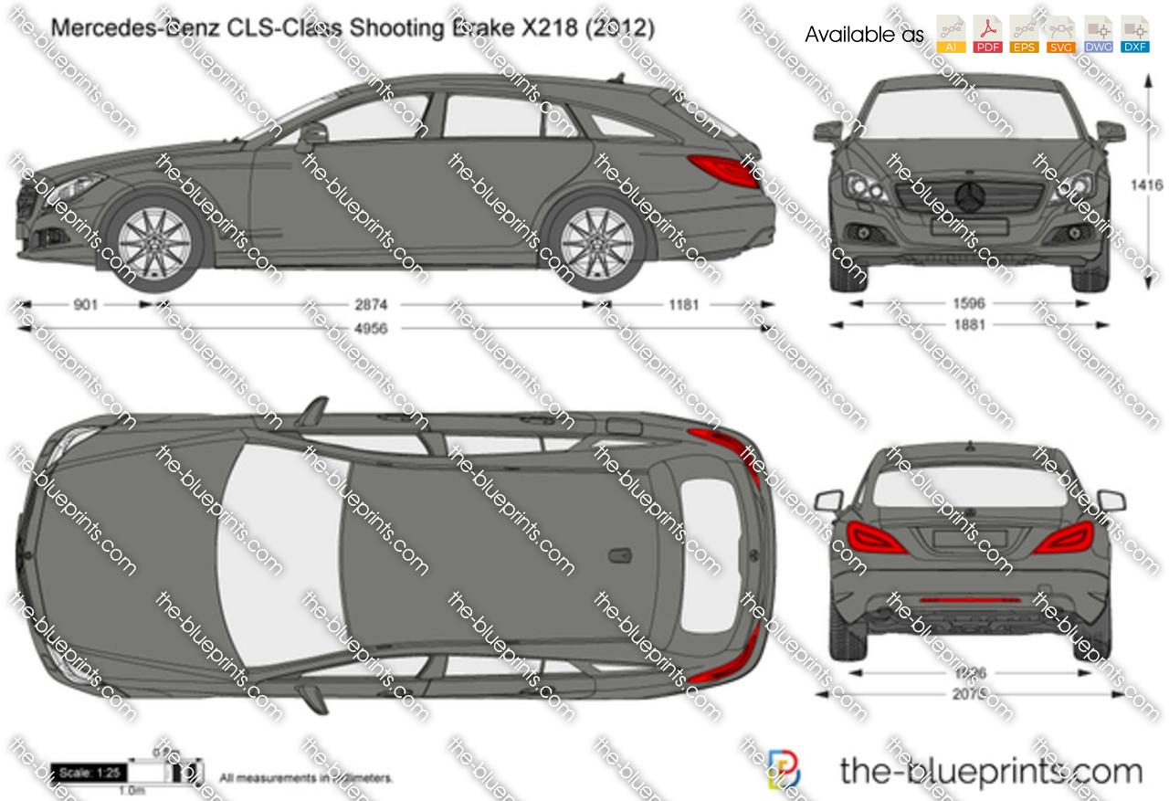 Mercedes-Benz CLS-Class Shooting Brake X218