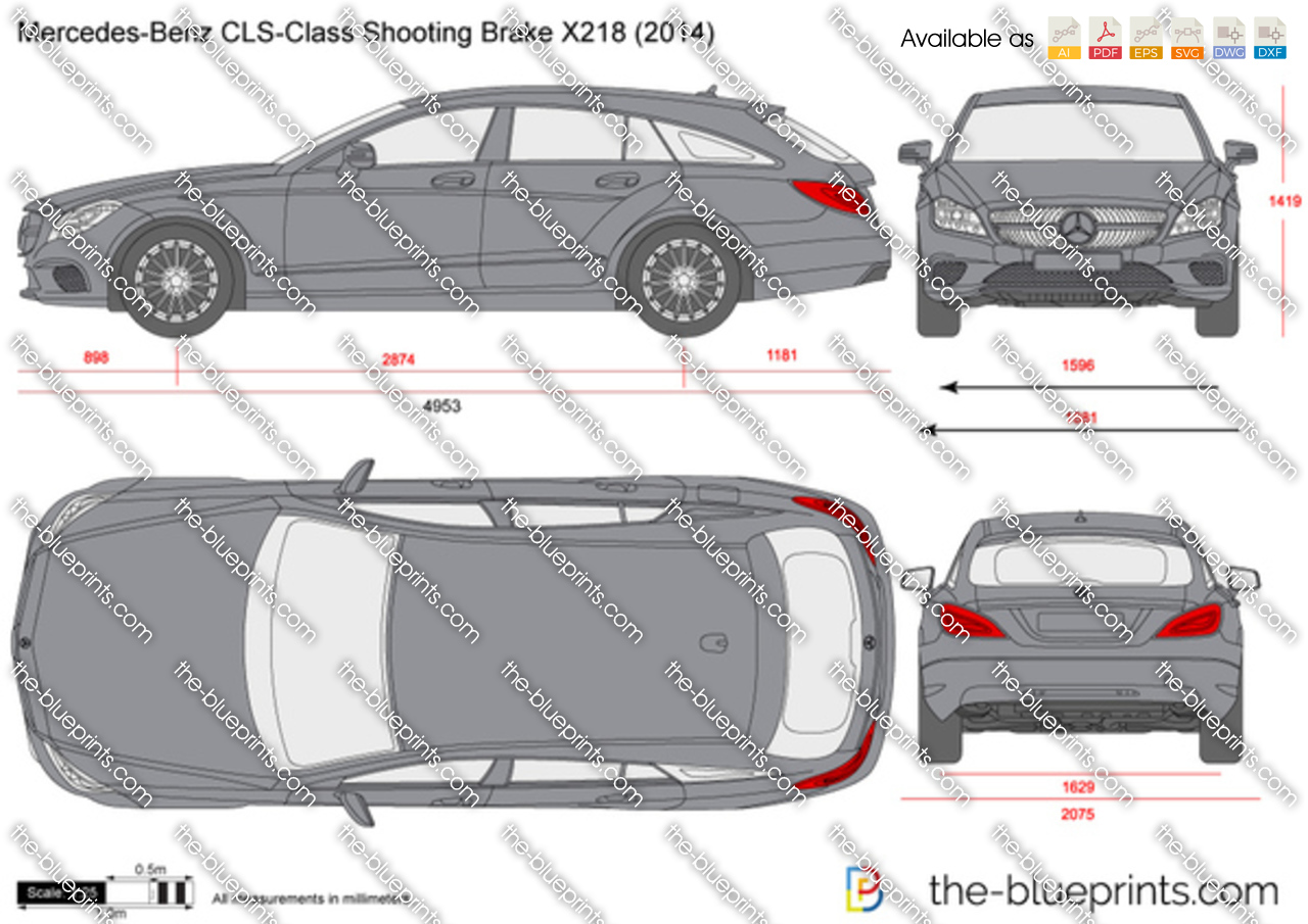 Mercedes-Benz CLS-Class Shooting Brake X218 2018